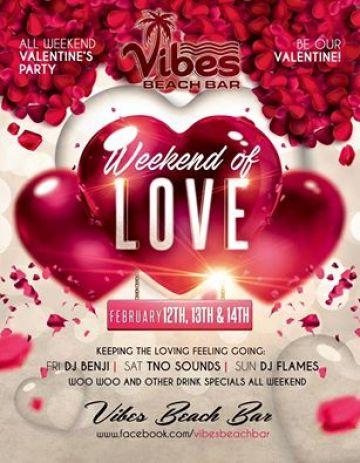 Vibe's Weekend of Love