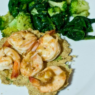 Spicy Curry Flaxseed Crackers… (low carb crackers)