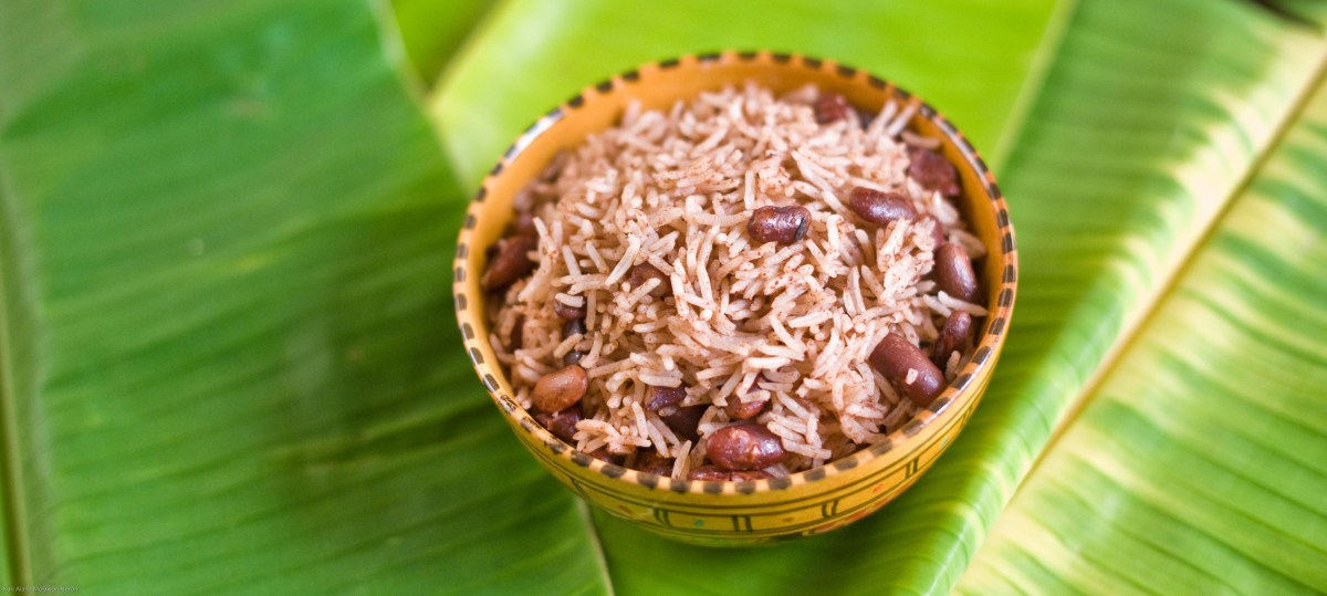 How to cook Jamaican Rice and Peas (Vegan)