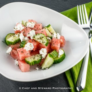Succulent Summer Salads with a recipe for Watermelon Feta Salad