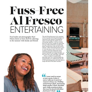 A new monthly magazine feature for Chef and Steward