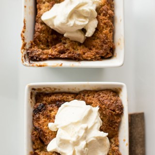 Jamaican Rum French Toast Bread and Butter Pudding Recipe