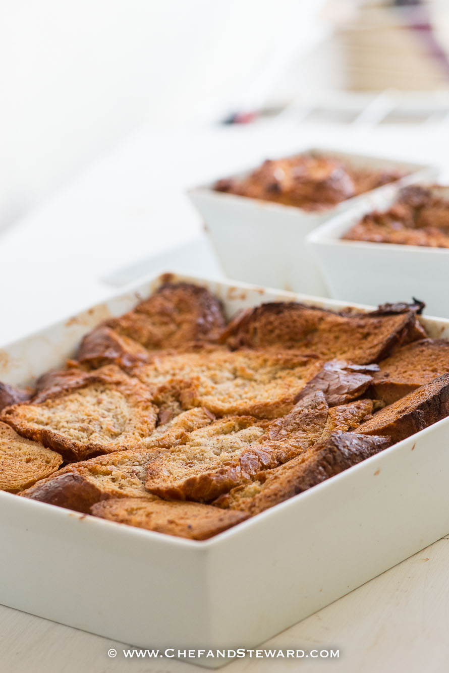 Jamaican Rum French Toast Bread and Butter Pudding Recipe ...