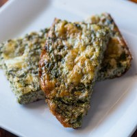 Crustless Calalloo (Amaranth) Quiche | Low Carb, Paleo, Gluten Free