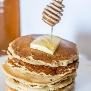 Easy peasy basic plain homemade pancake recipe