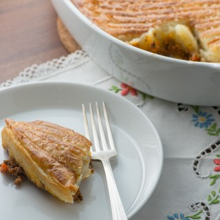 Wynne's Quick & Easy Beef Cottage Pie recipe