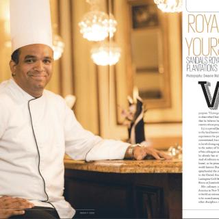 Exec Chef Lij Heron is featured in Indulge Magazine!