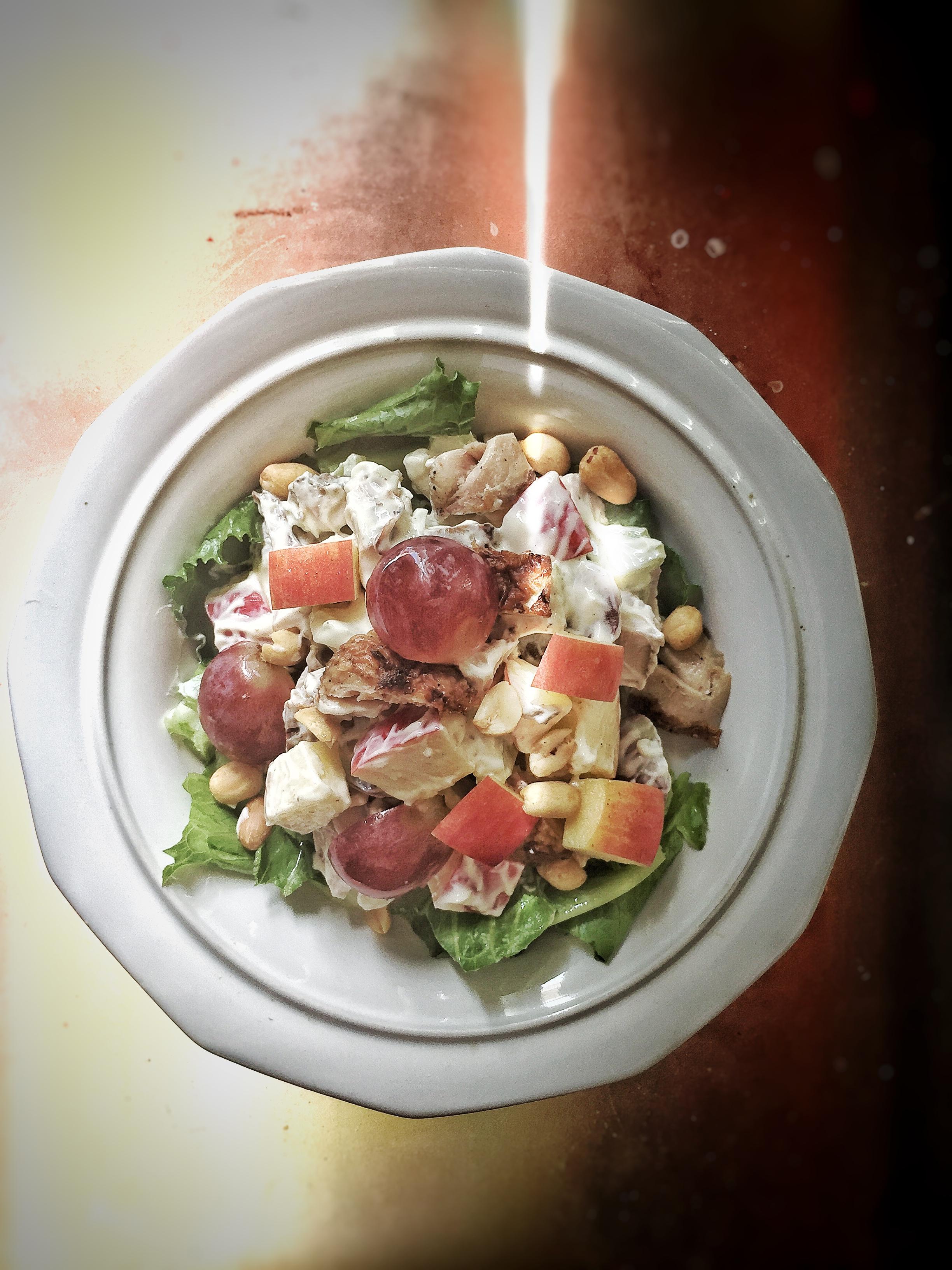 Jerk Chicken Waldorf Salad