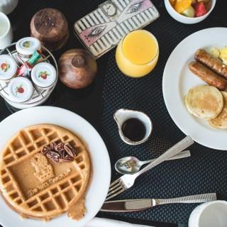 Breakfast at the Ritz Carlton Aruba