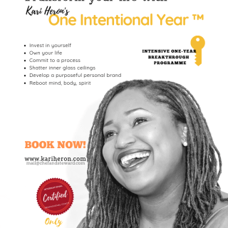 One Intentional Year ™  Breakthrough Coaching Programme w/ Kari Heron