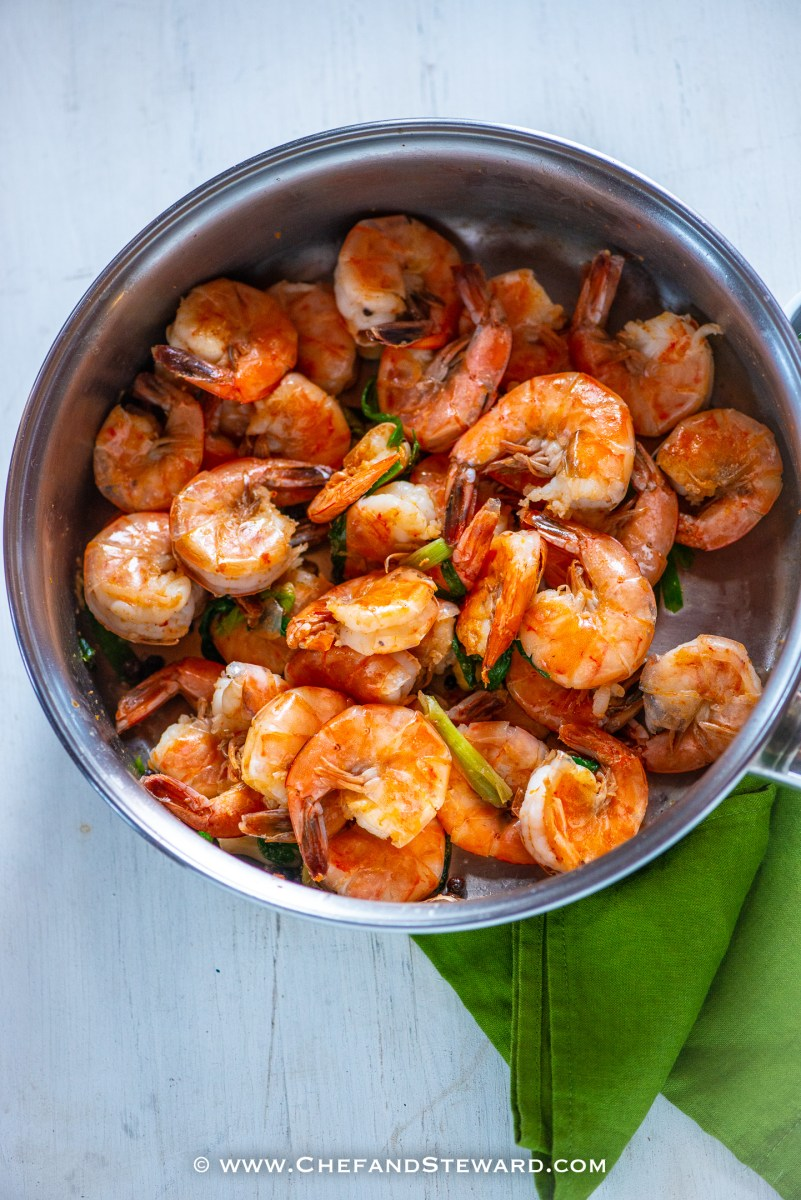 Best EVER Jamaican Pepper Shrimp Recipe