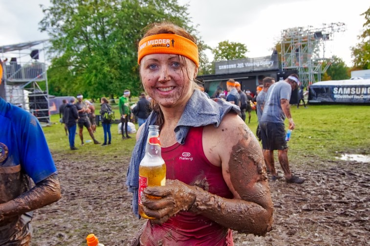 Tough Mudder North West 2017 Sara Finish