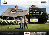 Faund-homepage