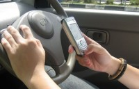 Niet SMS-en tijdens het werk