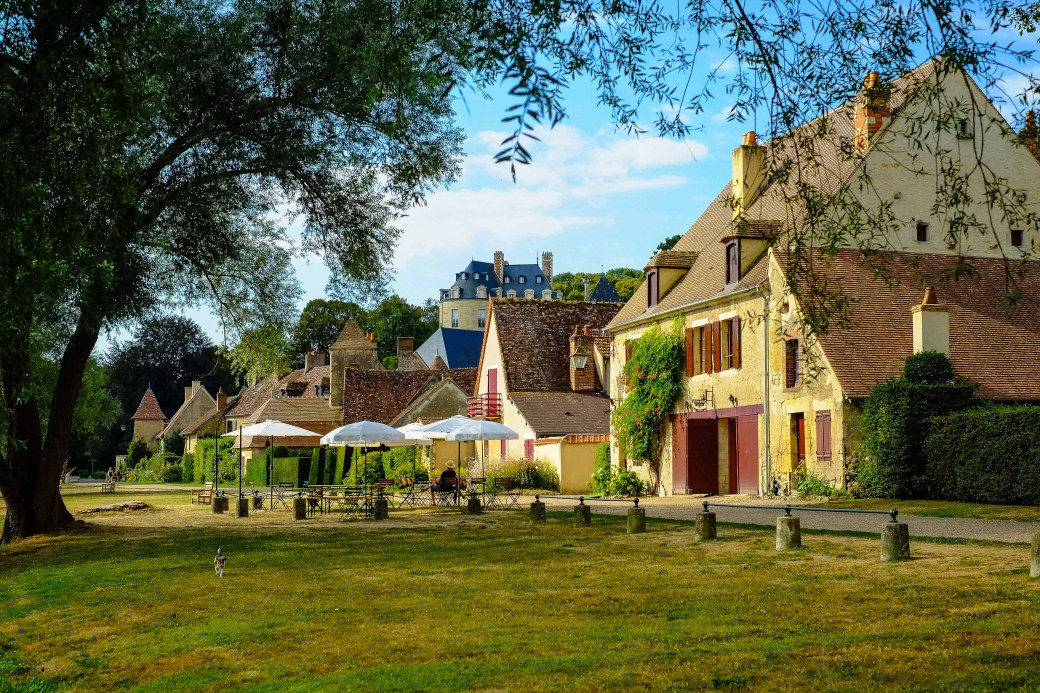 "Apremont-sur-Allier is definitely one of the ""Plus Beaux Villages de France""!"