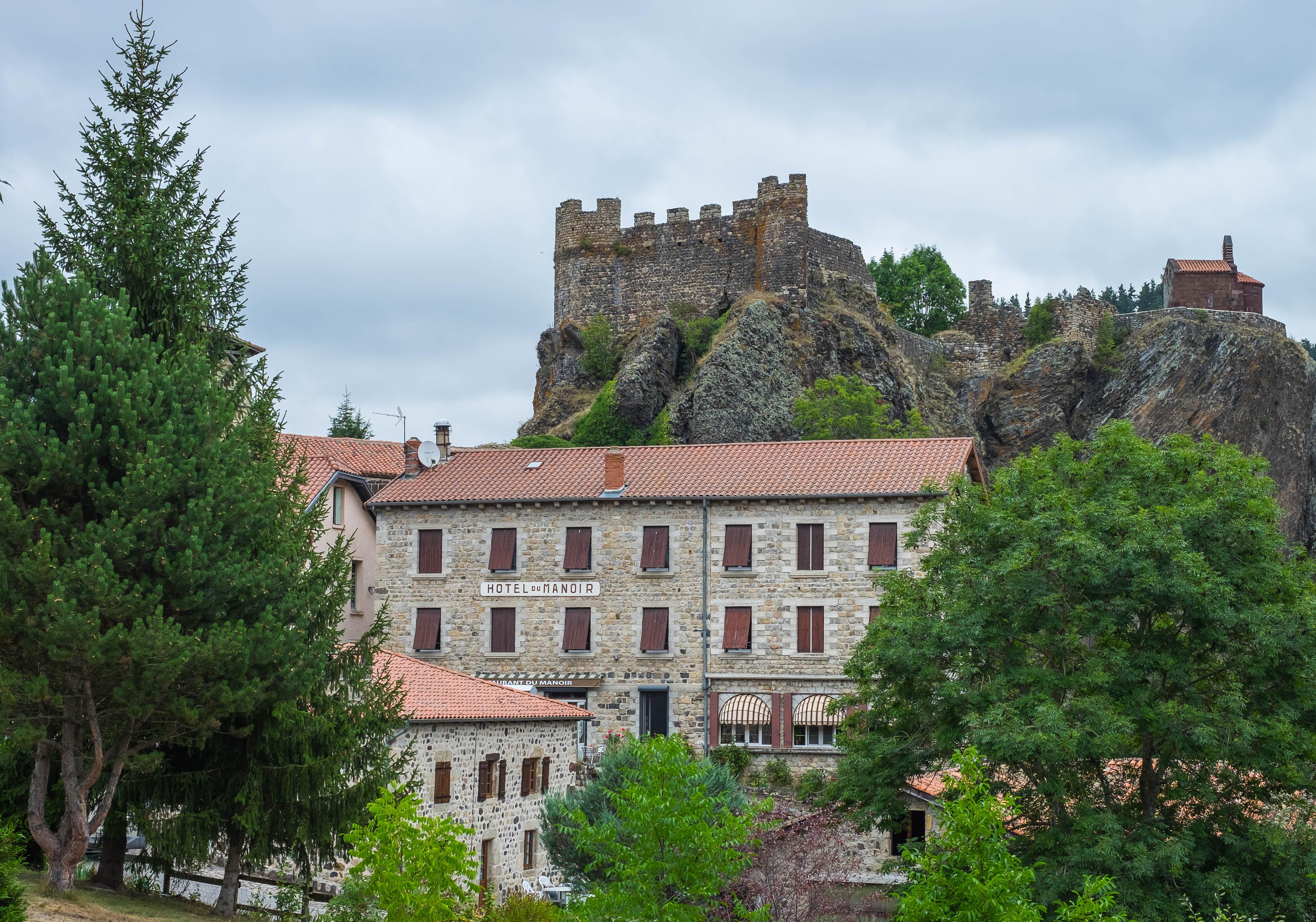 Arlempdes Castle Chateau Auvergne