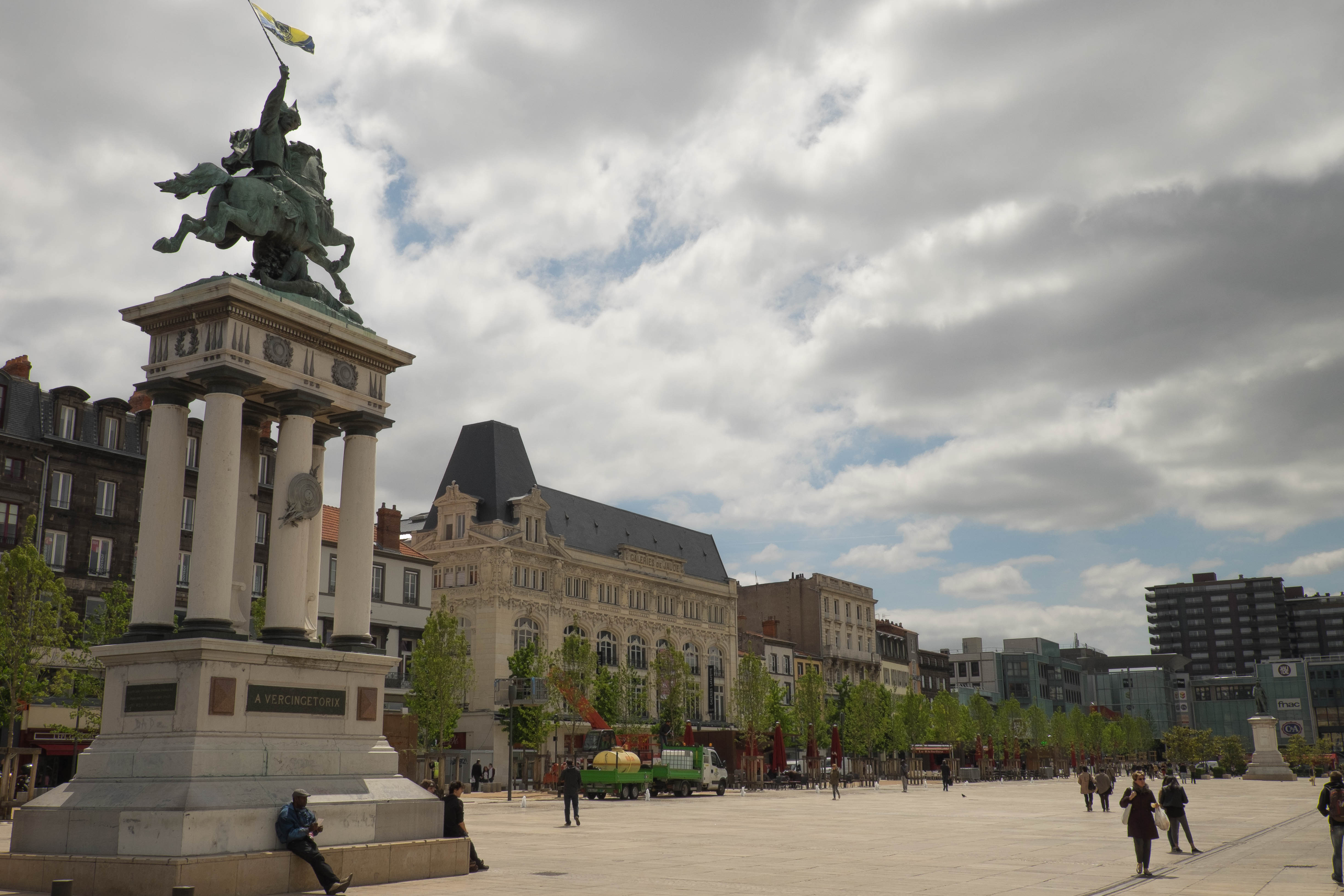 Clermont-Ferrand in Central France