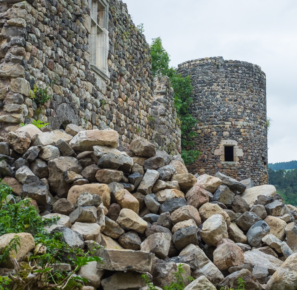 Castle Ruins at Arlempdes
