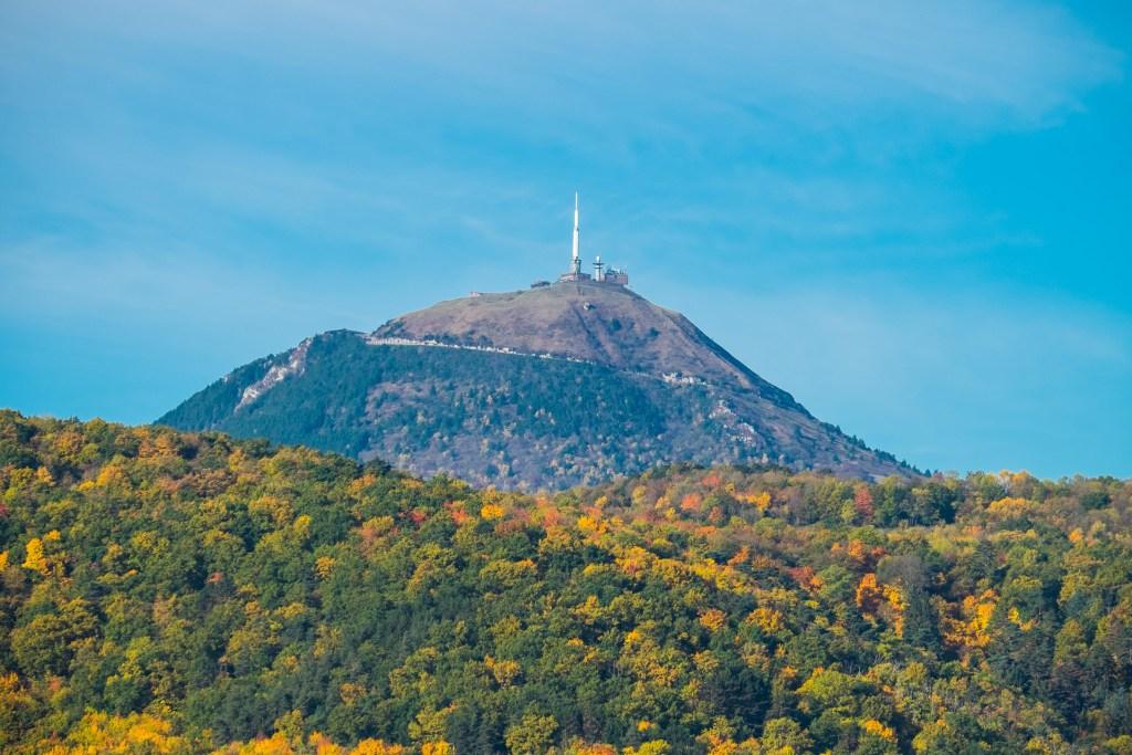 Puy de Dome Volcano Auvergne