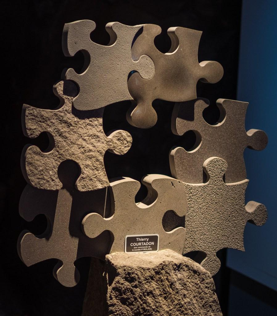 Auvergne Volvic Sculpture