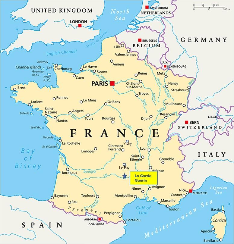 La Garde Guérin France