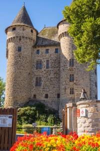 Chateau de Val Cantal Auvergne Castle