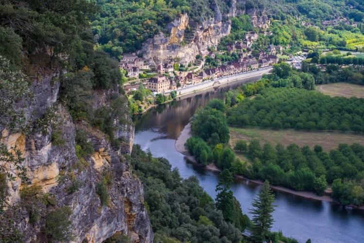 La Roque Gageac Dordogne Perigord Noir
