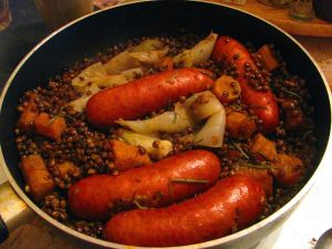 Comfort food Auvergne recipe