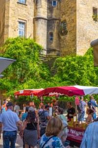 Sarlat Sarlat-le-Canèda Dordogne Perigord France Market