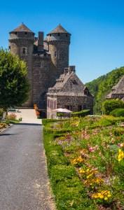 Tournemire Anjony Chateau Castle Auvergne Cantal