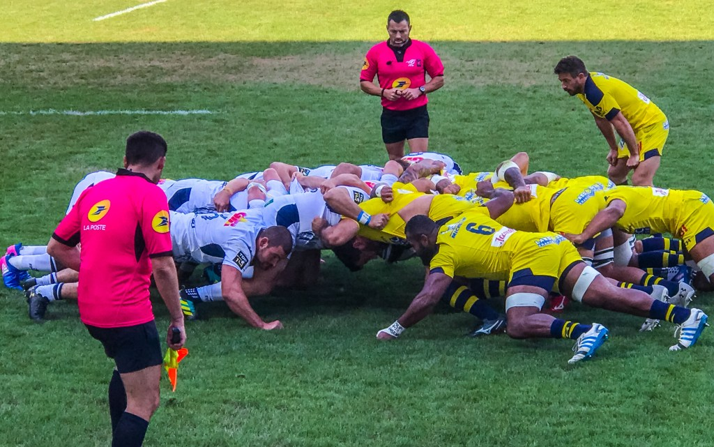 ASM Clermont Auvergne Montferrand Rugby Sports France Michelin