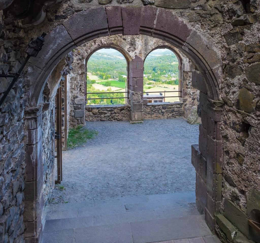 Murol Chateau Castle Auvergne Cantal France Medieval Renaissance