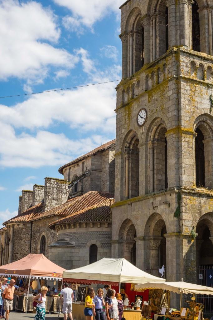 Saint-Léonard-de-Noblat Saint-Leonard France Haut-Vienne Limousin Haut-Vienne Nouvelle-Aquitaine Romanesque Medieval French Travel