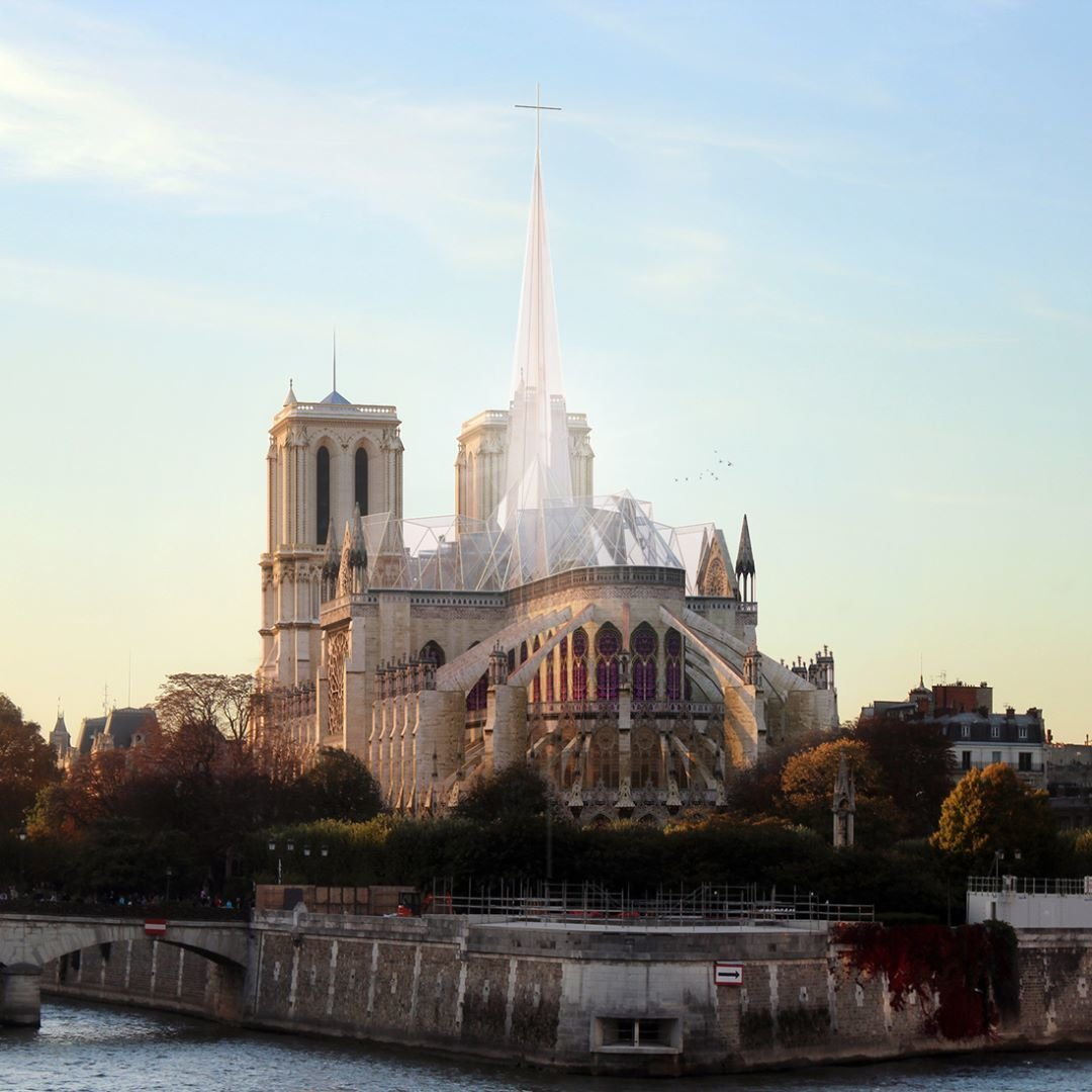 """The debate after Notre Dame – Should """"traditional"""" buildings be updated?"""