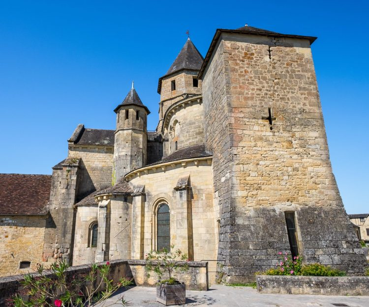 Saint-Robert France Correze Romanesque
