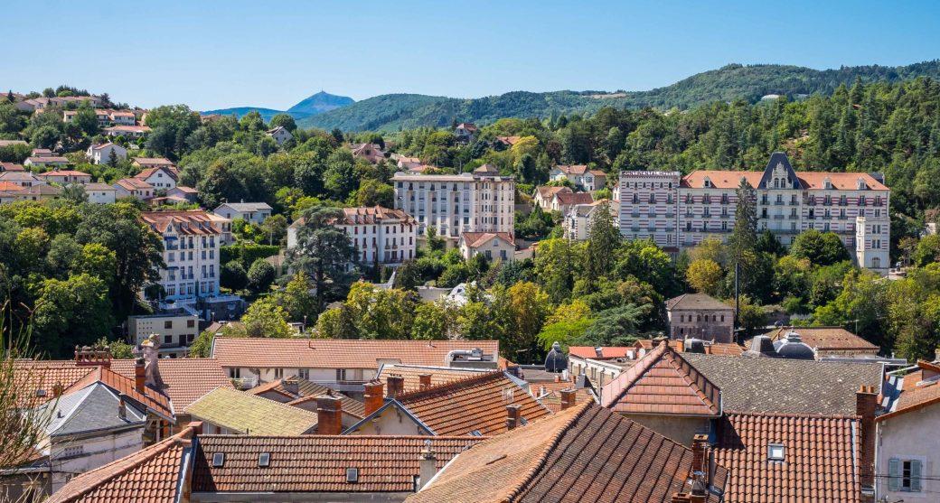 Châtel-Guyon Auvergne France Spa