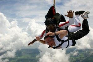 Dennis Skydiving to Celebrate 50th Birthday