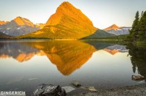 Many Lake in Glacier National Park, MT
