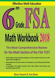 6th Grade FSA Math Workbook 2018: The Most Comprehensive ...