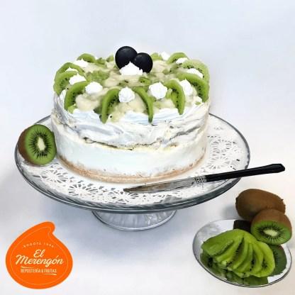 Torta merengón helado Guanábana con wiki