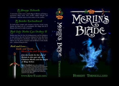 Cover for Merlin's Blade