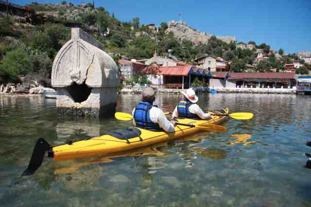 Kayaking in Turkey