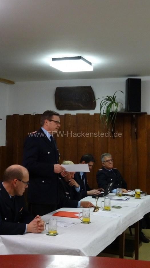 Gemeindebrandmeister  Bernd Scharlemann