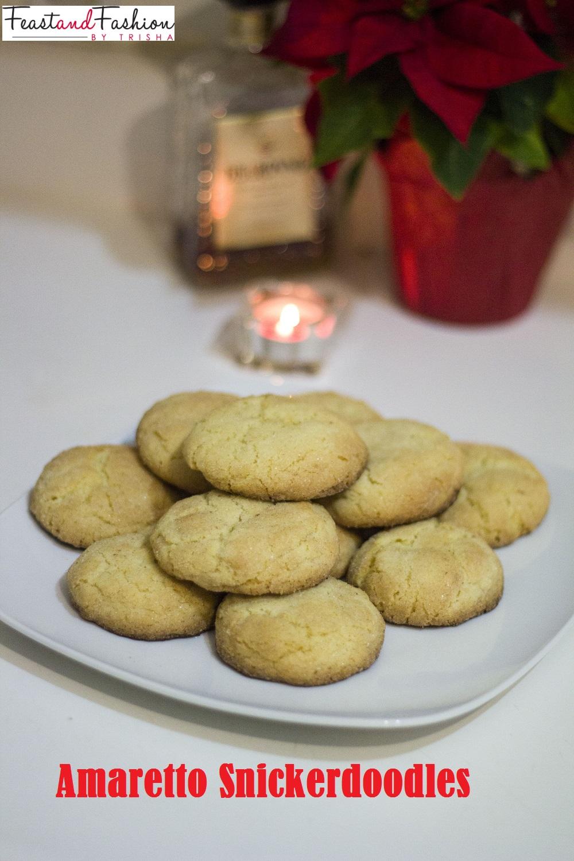 amaretto snickerdoodles