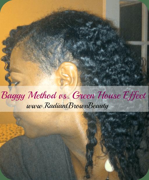 baggy method vs green house effect