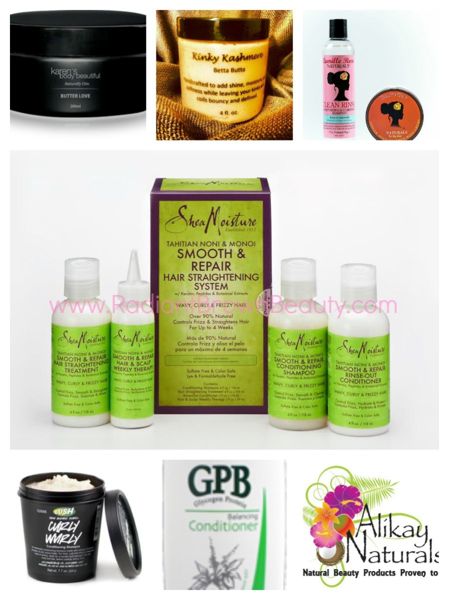 Staple Products For Natural Hair