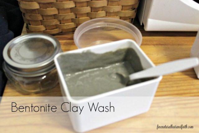 bentonite clay wash