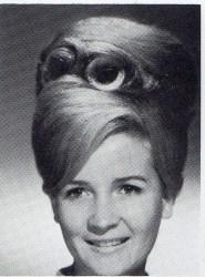 beehive-hair