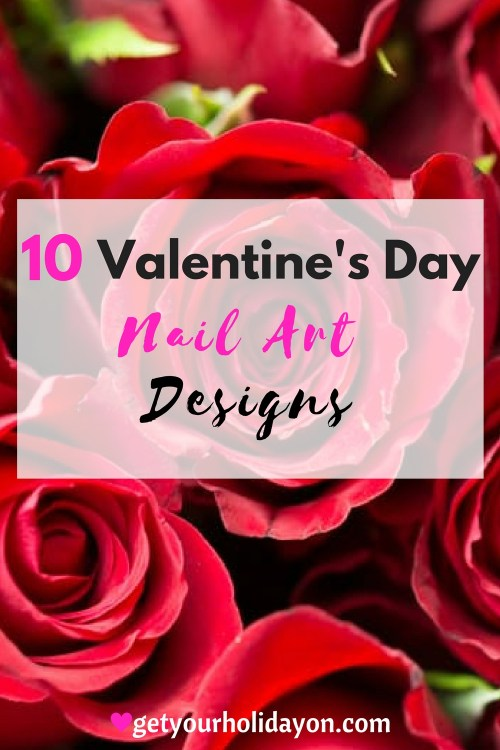 Valentines Day Nail Art Designs