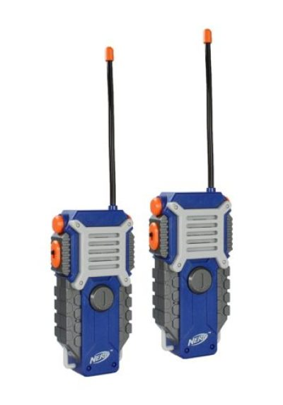 If you're looking for a set of Walkie Talkies. Check out these awesome Nerf Walkie Talkies that have a rugged sports design that makes it perfect for games, tag or other outdoor activities. Any eleven year old boy would love this for a gift.